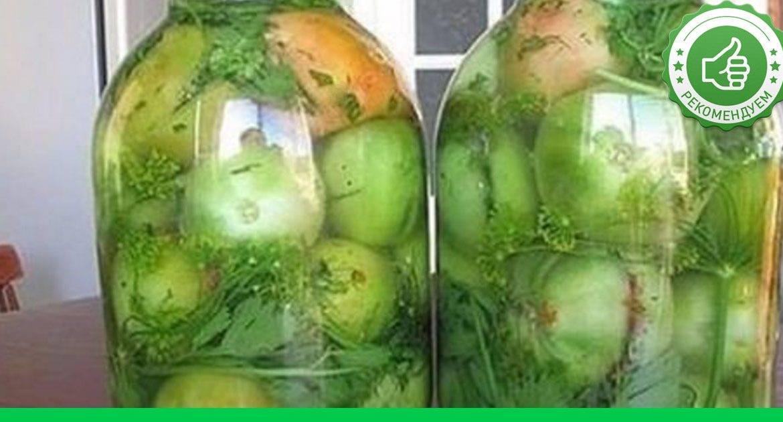 Лечо из зеленых помидор с болгарским перцем и морковью