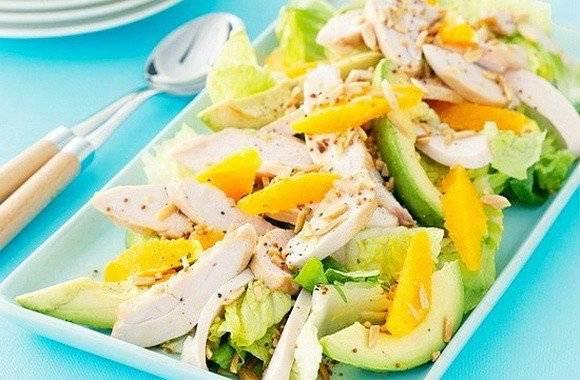 Салат из авокадо и манго — рецепт салата с фото