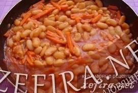 Свинина с фасолью в томатном соусе - рецепт с фотографиями - patee. рецепты