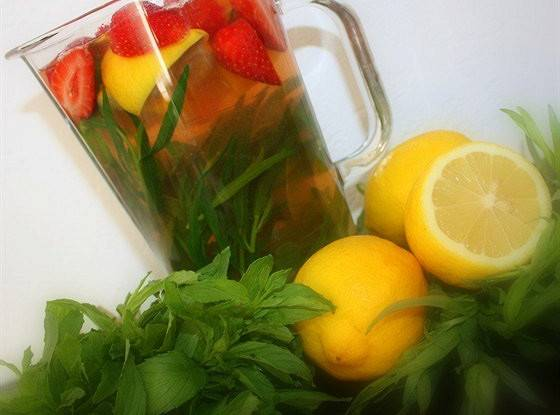 Домашний лимонад с клубникой | vipvkusnyashka.ru