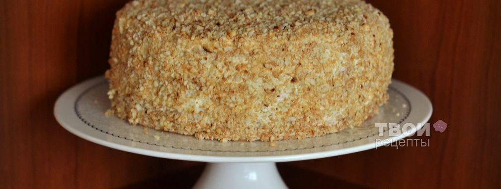 Бисквитный торт - рецепты
