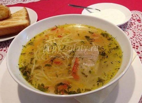 Как приготовить молдавский суп «зама»