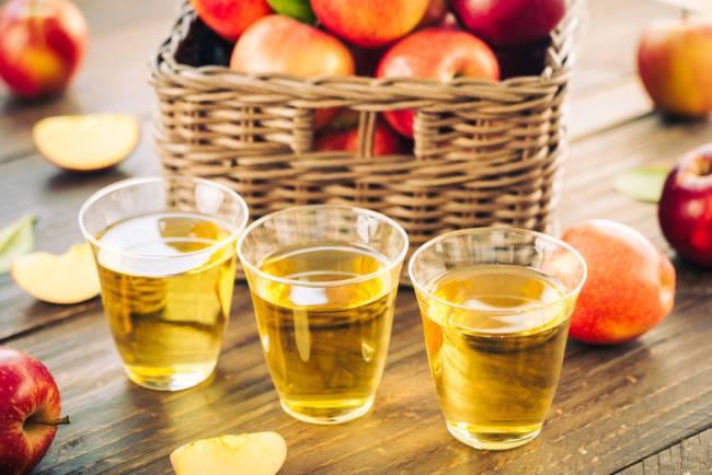Сок яблочный - рецепты