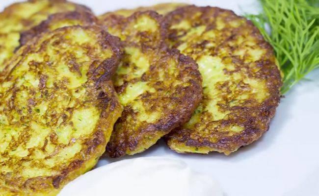 Пошаговый рецепт приготовления драников из кабачков