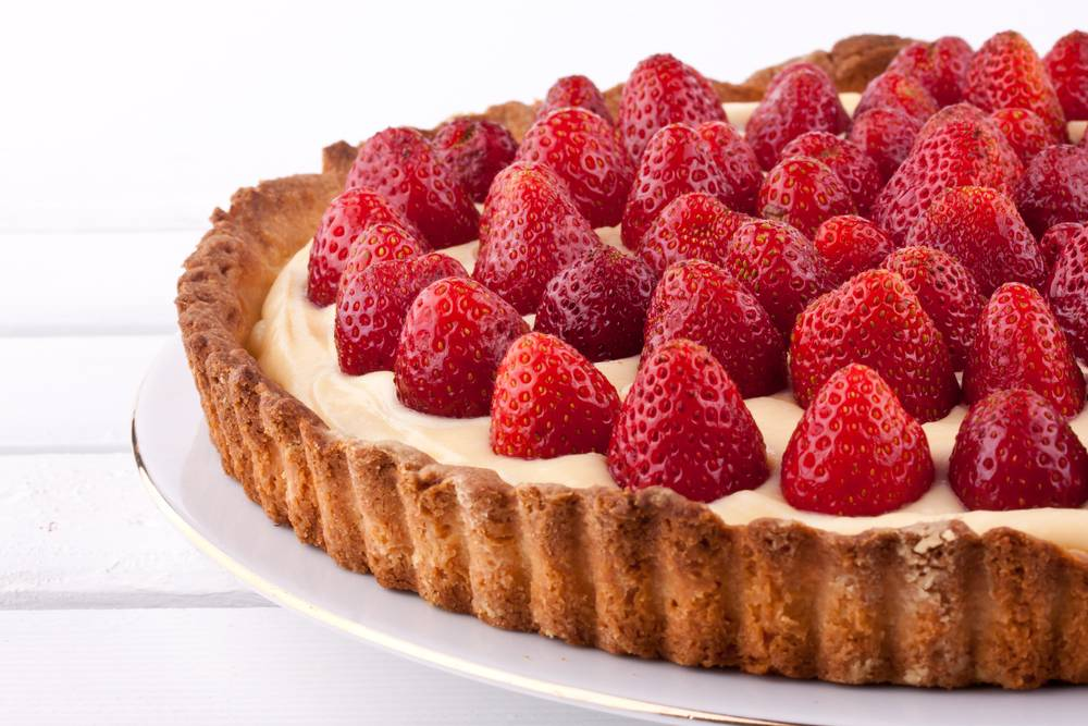 Заварной пирог с заварным кремом «карпатка» — кулинарные рецепты любящей жены