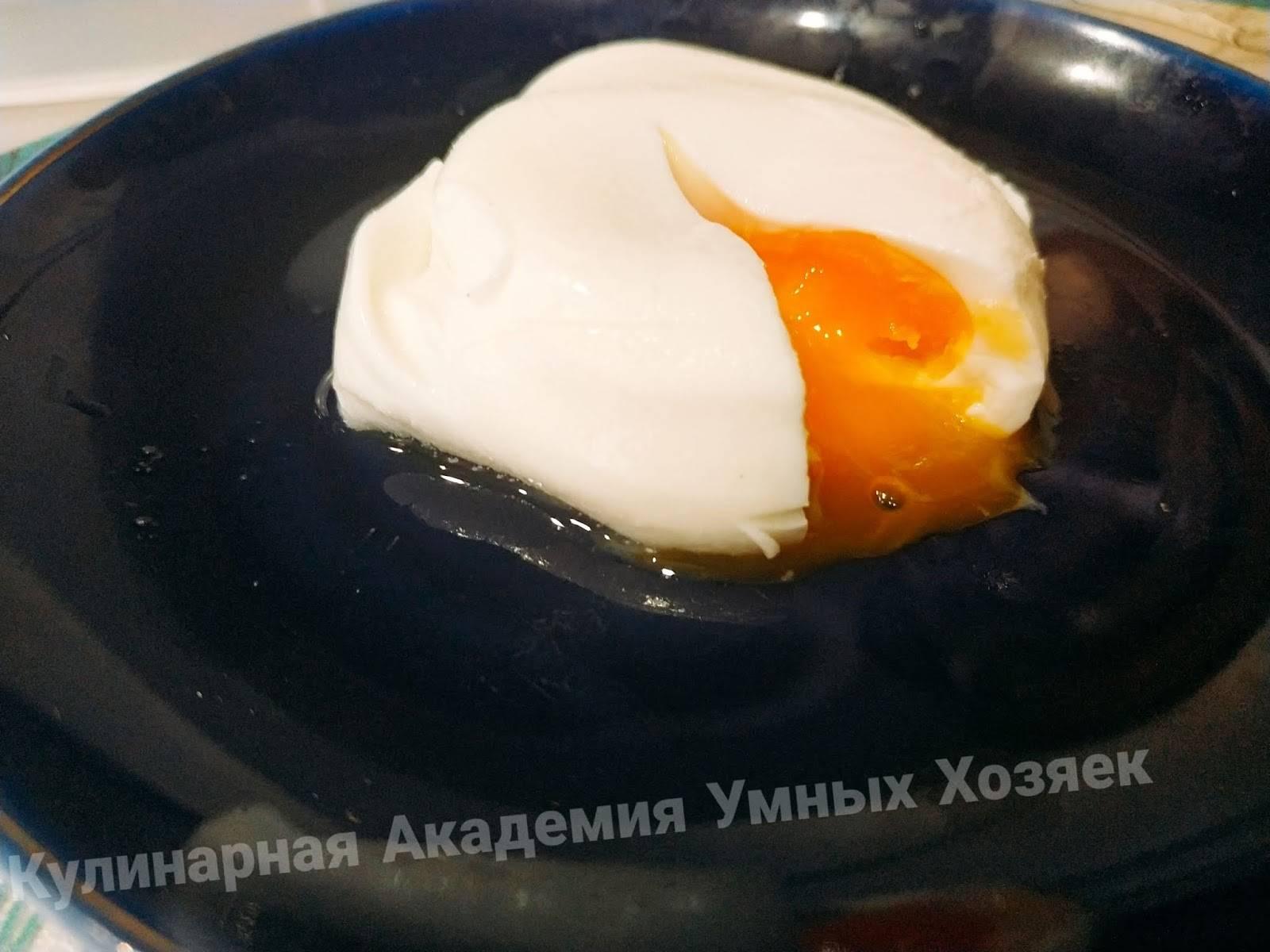 Как сварить яйцо-пашот в микроволновке