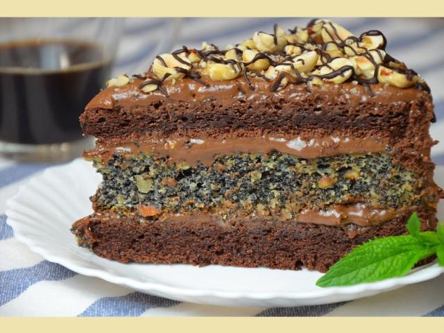 Торт «три шоколада»: рецепт пошагово