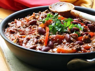 Чили кон карне (chili con carne) - вкусные заметки