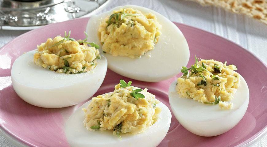 Рецепты фаршированных яиц