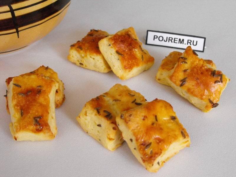 Печенье картофельное соленое