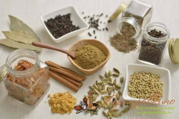 Индийские приправы: смеси специй (масала, гарам-масала, чат-масала, чаунк)