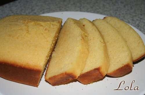 Кукурузно-пшеничный хлеб без дрожжей