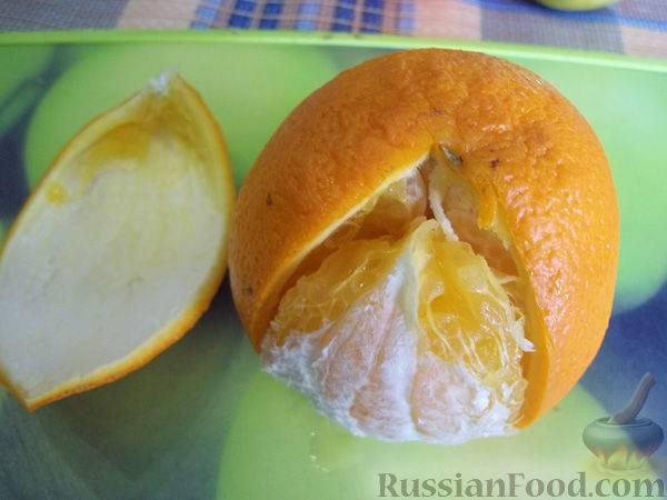 Желе из сока апельсина