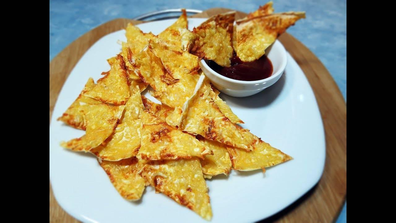 Чипсы из лаваша с паприкой в духовке: рецепт с фото пошагово