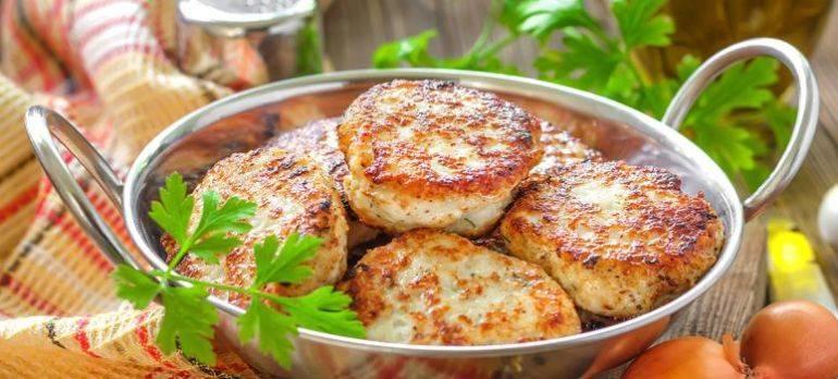 Котлеты из скумбрии с картофельным пюре