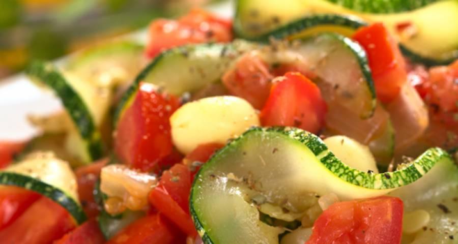 Кабачки по-гречески: рецепт и фото
