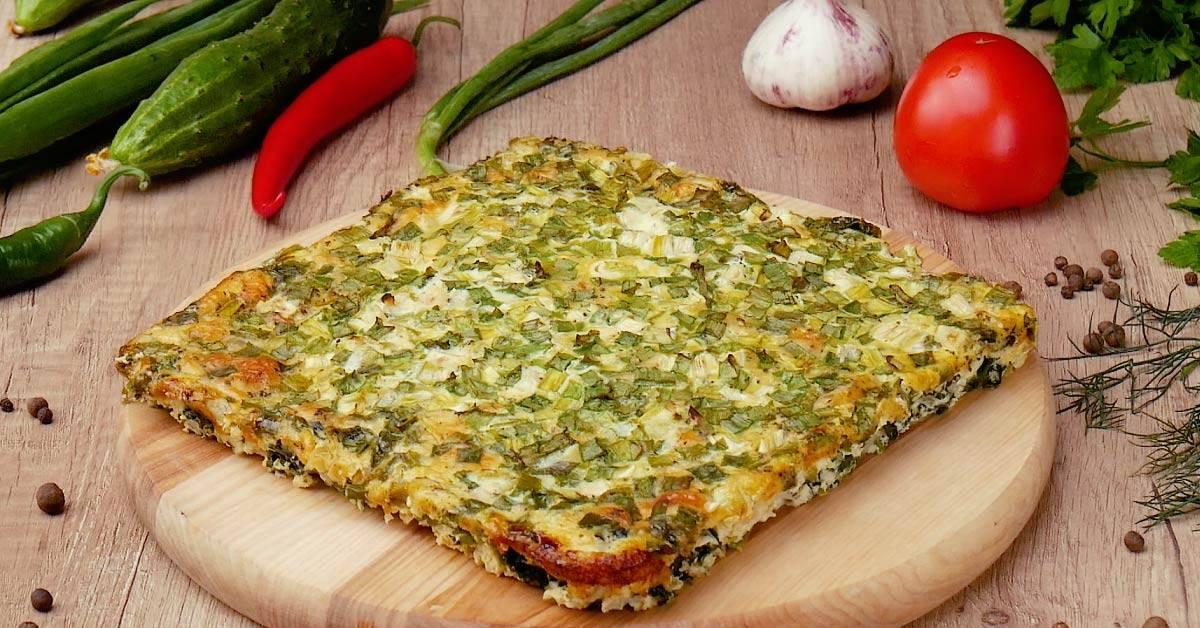 Сырная фриттата со шпинатом - рецепт с фотографиями - patee. рецепты