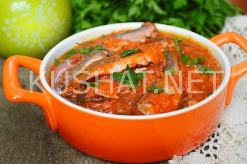 Как готовить кильку в томатном соусе в домашних условиях