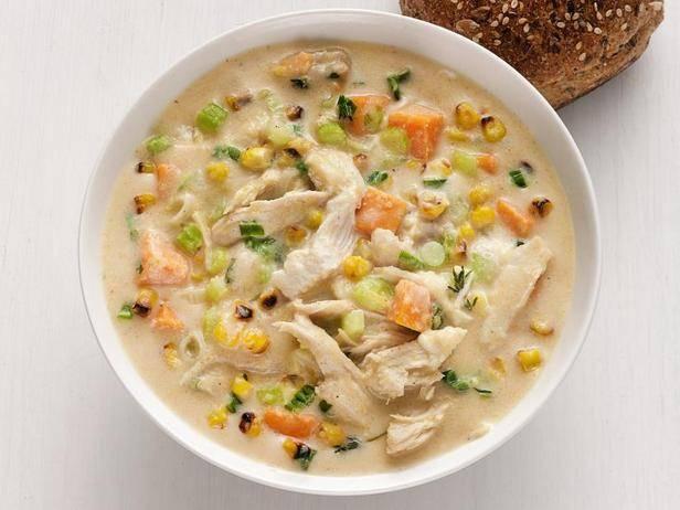 Вкуснейший суп с морепродуктами клэм-чаудер