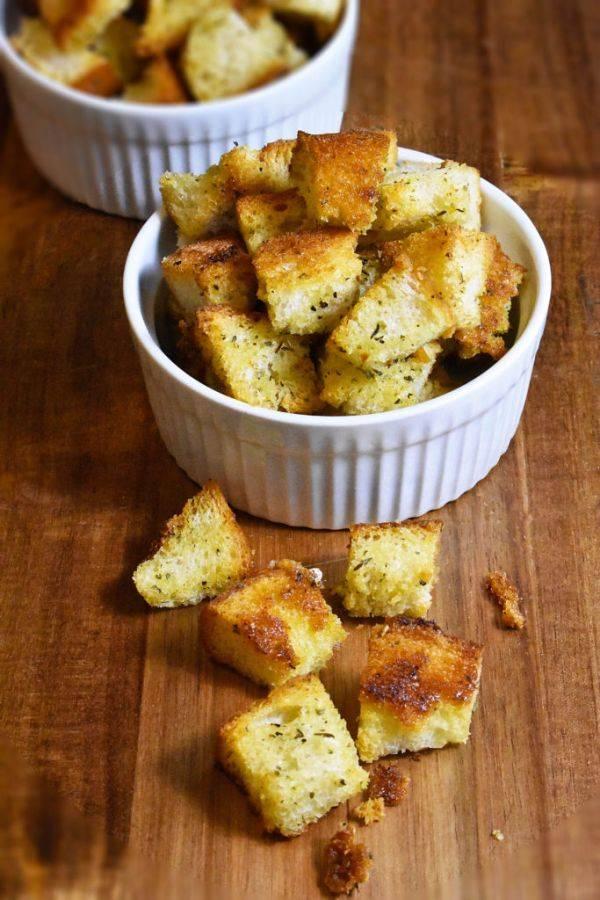 Гренки с чесноком - рецепты с фото. как приготовить чесночные гренки из черного или белого хлеба