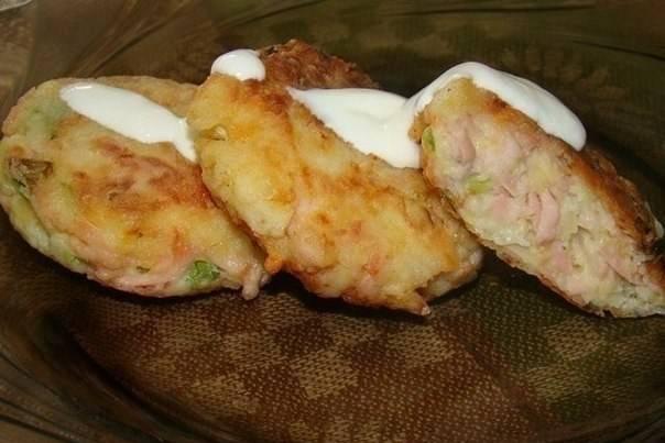 Картофельные биточки с сыром - 7 пошаговых фото в рецепте