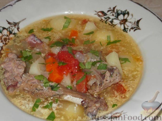 Суп из утки с сырно-чесночными галушками — невероятно вкусно