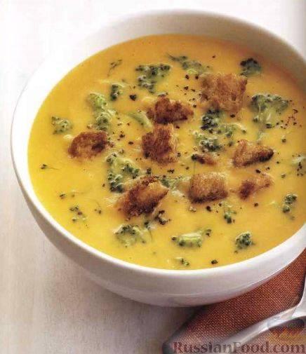 Картофельный суп по-саксонски