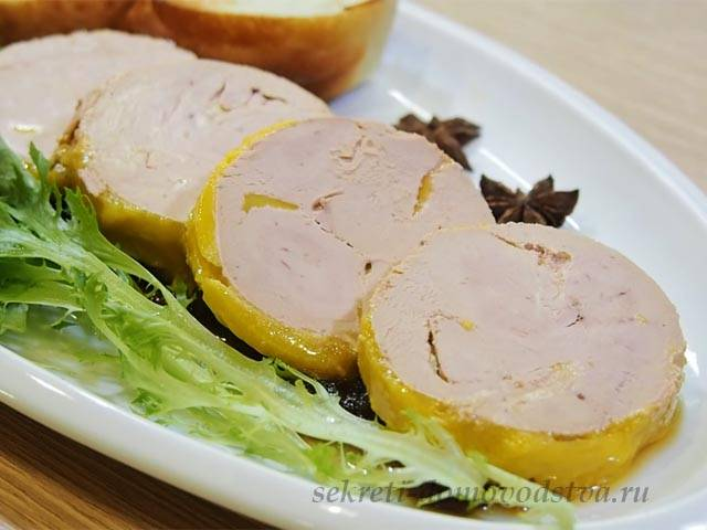Фуа-гра из куриной печени