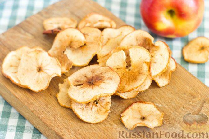 Как приготовить яблочные чипсы в домашних условиях?