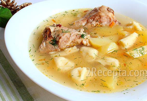 Как сделать вкусные галушки для супа. куриные супы с галушками: основные рецепты.