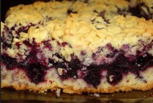 Пирог с замороженной черной смородиной: 4 простых рецепта