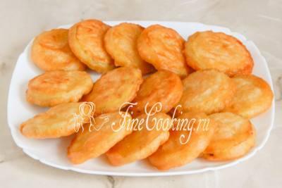 Жареные кабачки в панировочных сухарях