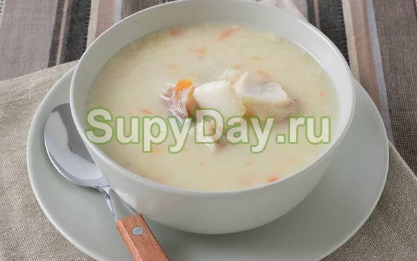 Финский рыбный суп с молоком