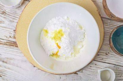 Простая лимонная глазурь для пряников, кексов, куличей