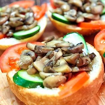 Бутерброды на скорую руку «студенческие»