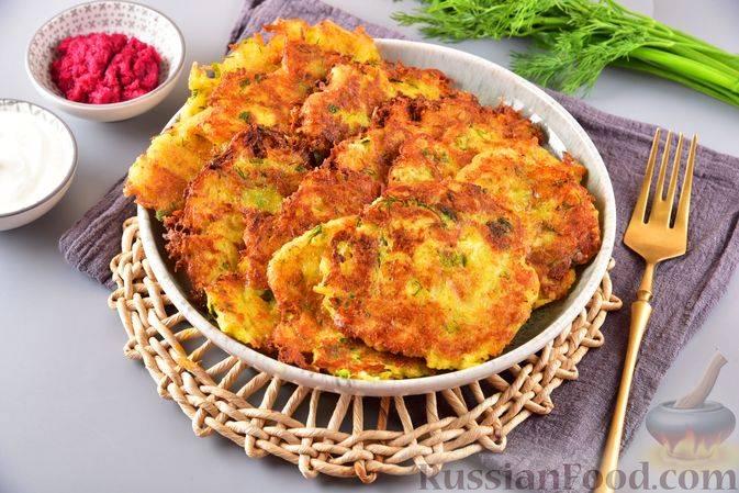 Картофельные драники, жареные на сковороде — 8 пошаговых рецептов