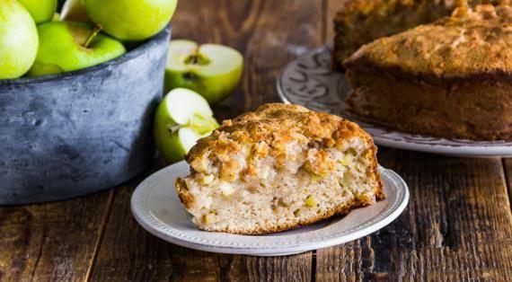 Маффины на кефире с яблоками, рецепт с фото пошагово