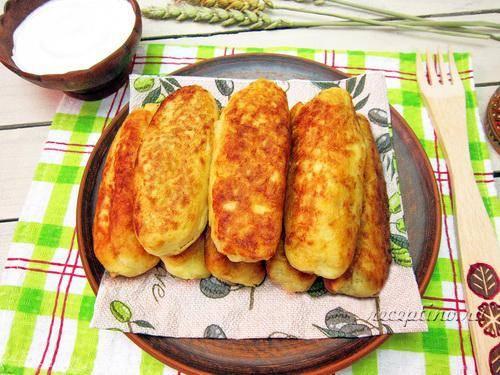 Картофельные зразы с фаршем в духовке