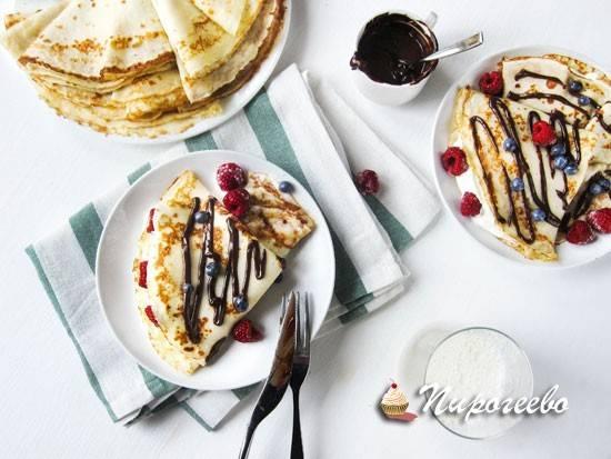 Французские блинчики: топ-5 лучших рецептов
