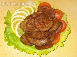 Оладьи из куриной печенки - 9 пошаговых фото в рецепте