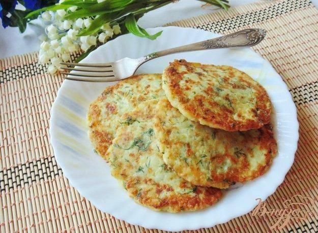 Картофельно-сырные лепешки