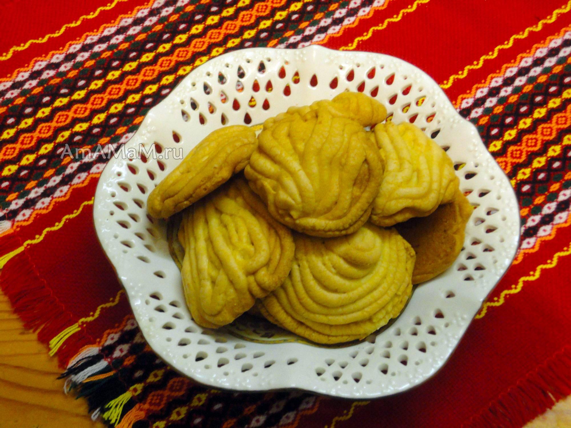 Печенье через мясорубку рецепт с фото пошагово