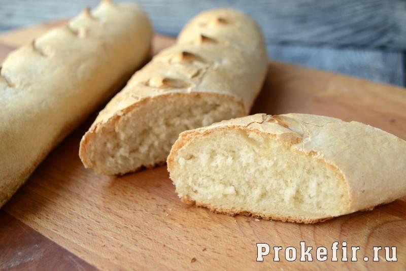 Французские багеты - 9 пошаговых фото в рецепте