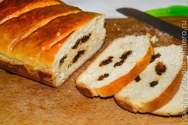 Хлеб с финиковой начинкой