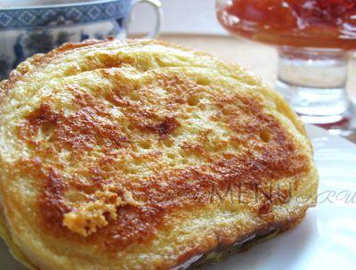 Хрустящие гренки с сыром и специями