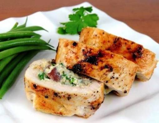 Фаршированная куриная грудка — 8 рецептов приготовления в духовке, мультиварке, на сковороде