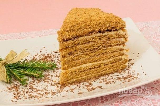 Классический торт медовик – 10 простых рецептов