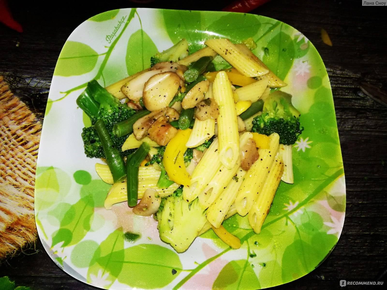 Паста Примавера — яркое весеннее блюдо