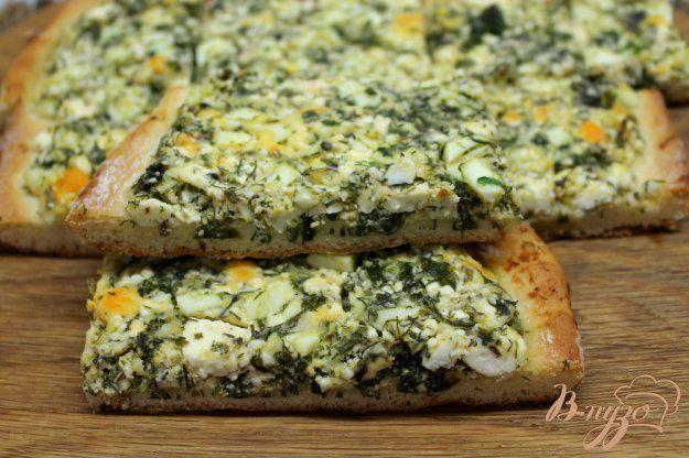 Пирог с брынзой и укропом - 15 пошаговых фото в рецепте