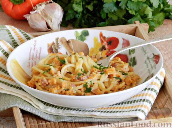 Рецепты паста с тыквенным соусом